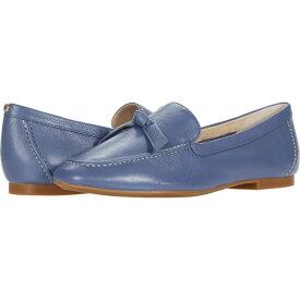 コールハーン Cole Haan レディース ローファー・オックスフォード シューズ・靴【Caddie Bow Loafer】Vintage Indigo Soft Grainy Leather/Knot Bow/Natural Stitch