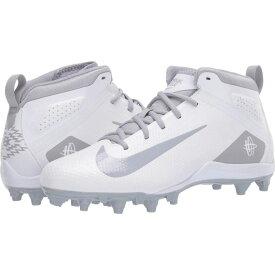 ナイキ Nike メンズ ラクロス シューズ・靴【Alpha Huarache 7 Varsity Lax】White/Wolf Grey/White