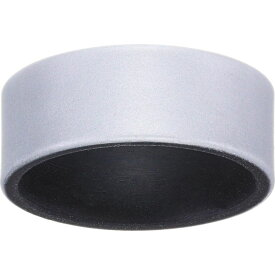 Qalo メンズ 指輪・リング ジュエリー・アクセサリー【Blank Strata Silicone Ring】Silver/Black
