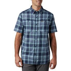 コロンビア Columbia メンズ 半袖シャツ トップス【Leadville Ridge Short Sleeve Shirt II】Dark Mountain Ombre Plaid