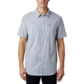 コロンビア Columbia メンズ 半袖シャツ トップス【Leadville Ridge Short Sleeve Shirt II】New Moon Small Grid Plaid