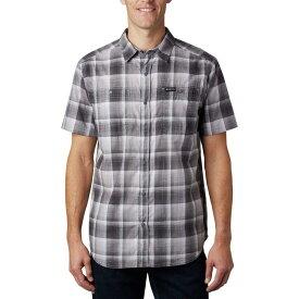 コロンビア Columbia メンズ 半袖シャツ トップス【Leadville Ridge Short Sleeve Shirt II】Columbia Grey Ombre Plaid
