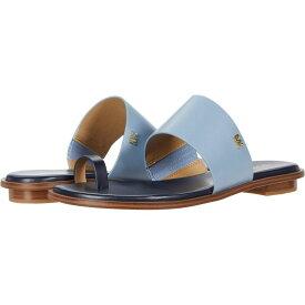 マイケル コース MICHAEL Michael Kors レディース サンダル・ミュール フラット シューズ・靴【August Flat Sandal】Admiral/Pale Blue
