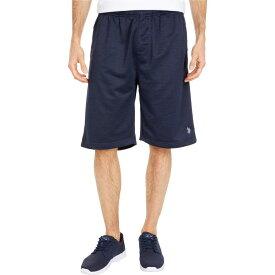 ユーエスポロアッスン U.S. POLO ASSN. メンズ ショートパンツ ボトムス・パンツ【Space Dyed Shorts】Classic Navy Heather
