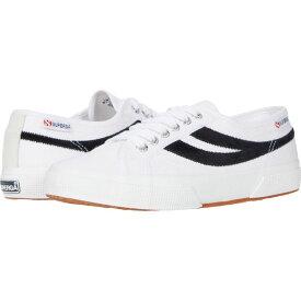 スペルガ Superga レディース スニーカー シューズ・靴【2953 Swallow Tail】White/Black