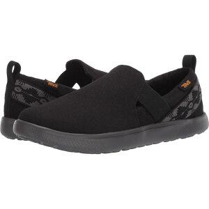 テバ Teva レディース スリッポン・フラット シューズ・靴【Voya Slip-On】Canyon Black