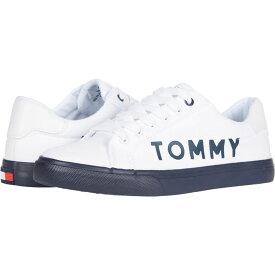 トミー ヒルフィガー Tommy Hilfiger レディース スニーカー シューズ・靴【Lightee】White Fabric