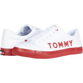 トミー ヒルフィガー Tommy Hilfiger レディース スニーカー シューズ・靴【Lightee】White Multi Fabric