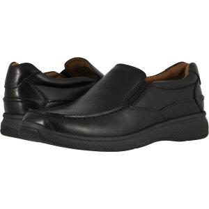 フローシャイム Florsheim メンズ スリッポン・フラット シューズ・靴【Great Lakes Moc Toe Slip-On】Black Smooth