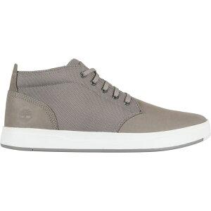 ティンバーランド Timberland メンズ シューズ・靴 チャッカブーツ【Davis Square Chukka Shoes】Medium Grey Nubuck