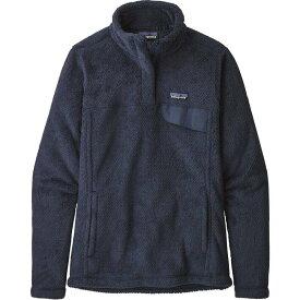 パタゴニア Patagonia レディース スキー・スノーボード トップス【re-tool snap-t pullover fleece】New Navy/Dark New Navy Crossdye