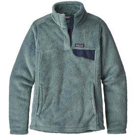 パタゴニア Patagonia レディース スキー・スノーボード トップス【re-tool snap-t pullover fleece】Shadow Blue/Cadet Blue X-Dye