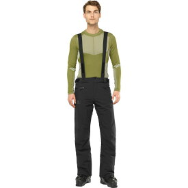 サロモン Salomon メンズ スキー・スノーボード ボトムス・パンツ【untracked ski pants】Black