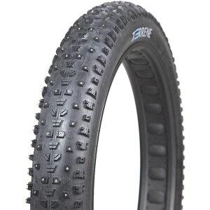 テレネ Terrene メンズ 自転車 スタッドタイヤ【cake eater flat-tip studded fat bike tire】