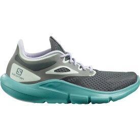 サロモン Salomon レディース ランニング・ウォーキング シューズ・靴【Predict Mod Trail Running Shoes】Ebony/Meadowbrook/Purple Heather