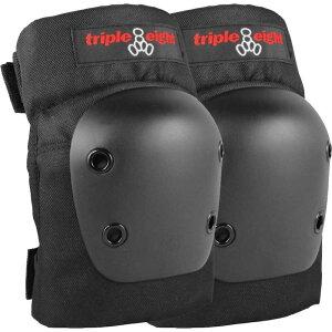 トリプルエイト Triple 8 メンズ スケートボード 2点セット【Street Protective 2 Pack Skateboard Pads】Black