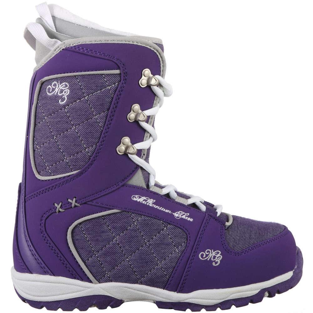 エムスリー レディース スキー・スノーボード シューズ・靴【Venus XIII Free Style Snowboard Boots】Purple