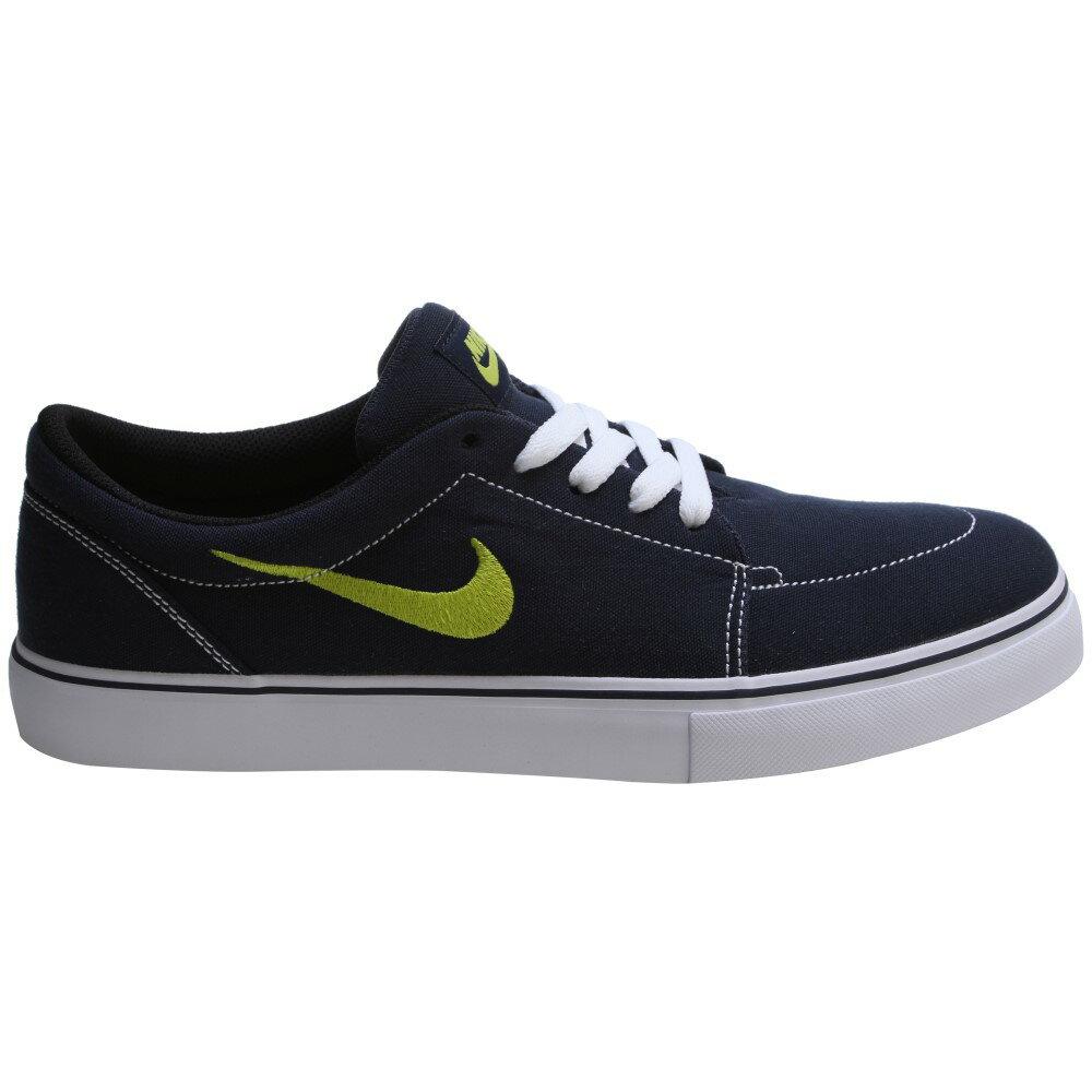 ナイキ メンズ シューズ・靴 スニーカー【Satire Canvas Skate Shoes】Obsidian/ Venom Green- White- Black