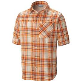 コロンビア メンズ トップス【Insect Blocker Plaid L/S Shirt】Backcountry Orange