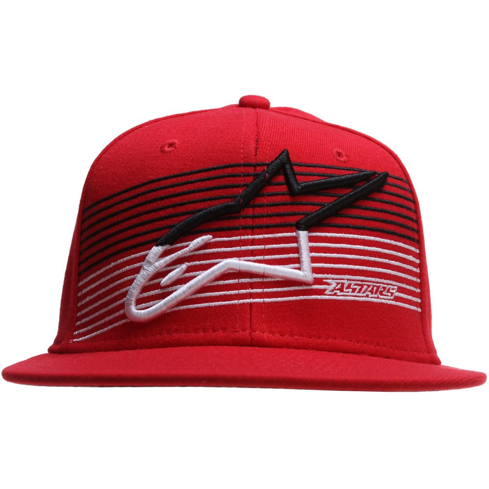 アルパインスター メンズ 帽子 キャップ【Underlined Flatbill Cap】Red