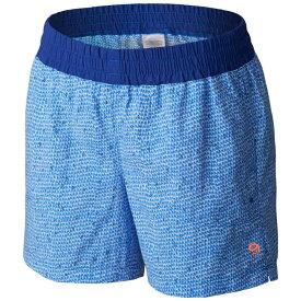マウンテンハードウェア レディース ボトムス・パンツ ショートパンツ【Class IV Printed Shorts】Bright Island Blue