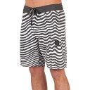 ボルコム メンズ 水着・ビーチウェア 海パン【Mag Vibes Stoney 19in Boardshorts】Black White