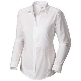 マウンテンハードウェア レディース トップス【Canyon L/S Performance Shirt】White