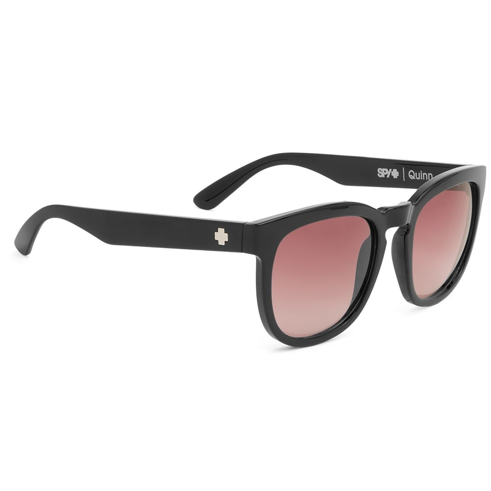 スパイ レディース メガネ・サングラス【Quinn Sunglasses】Black/ Merlot Fade Lens