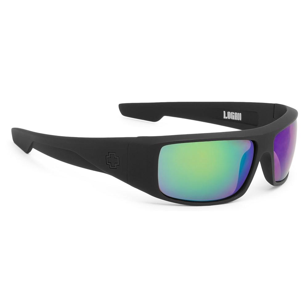 スパイ メンズ メガネ・サングラス【Mccoy Sunglasses】Black/ Happy Bronze Polarized/ Black Mirror Lens