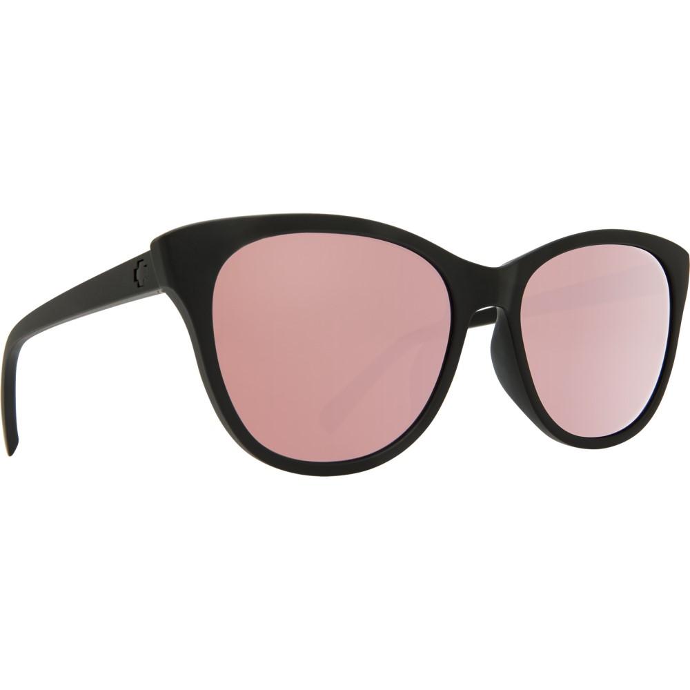 スパイ レディース メガネ・サングラス【Spritzer Sunglasses】Matte Black/ Bronze Rose Quartz Spectra Lens
