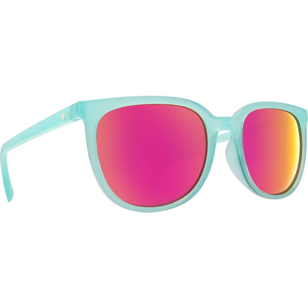 スパイ レディース メガネ・サングラス【Fizz Sunglasses】Translucent Seafoam/ Grey Pink Spectra Lens