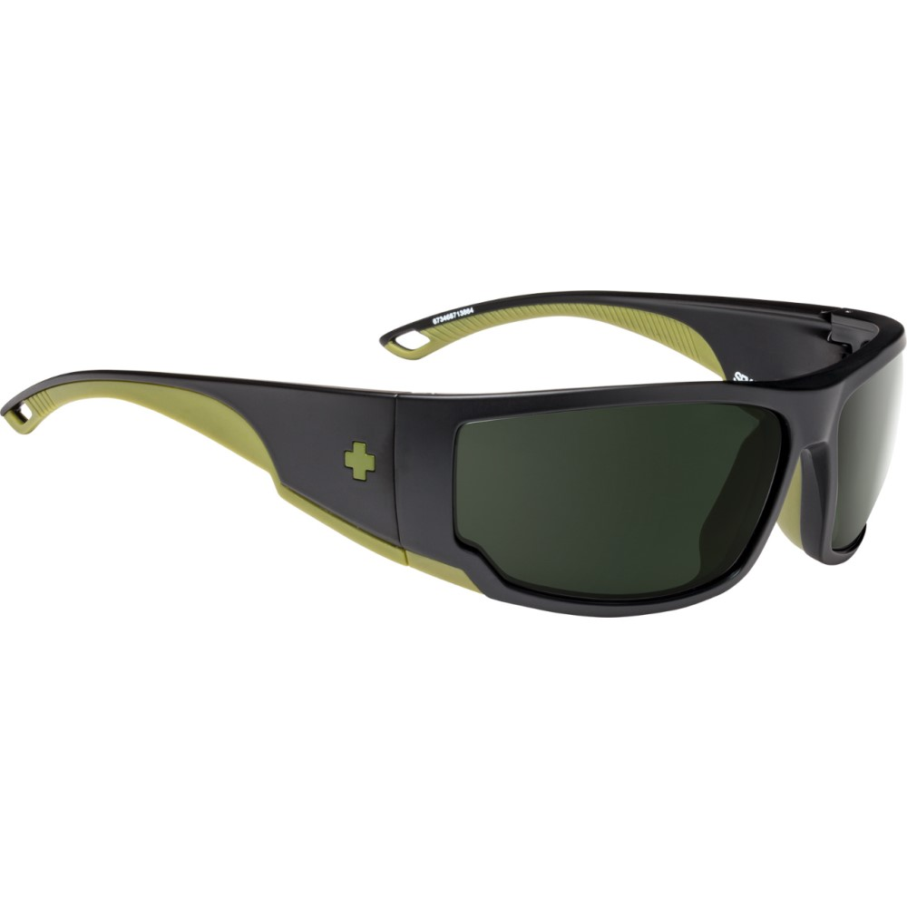 スパイ メンズ メガネ・サングラス【Tackle Sunglasses】Matte Black Olive/ Happy Grey Geen Polarized Lens