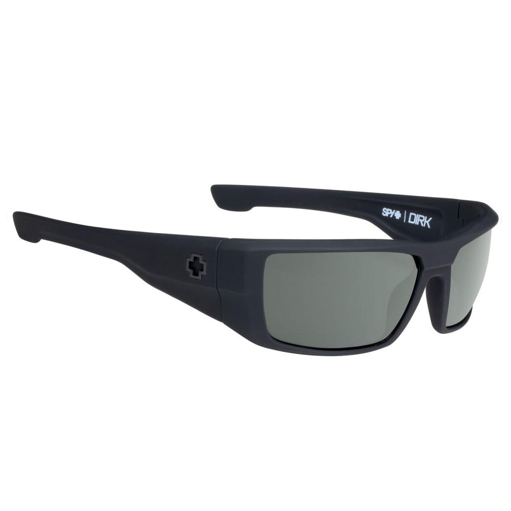 スパイ メンズ メガネ・サングラス【Dirk Sunglasses】Soft Matte Black/ Happy Grey Green Lens