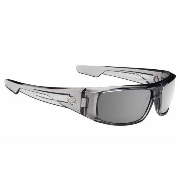 スパイ メンズ メガネ・サングラス【Logan Sunglasses】Clear Smoke/ Happy Grey Green/ Silver Mirror Lens