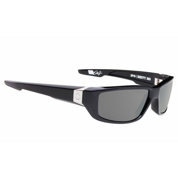 スパイ メンズ メガネ・サングラス【Dirty Mo Sunglasses】Black/ Happy Grey Green Polarized Lens