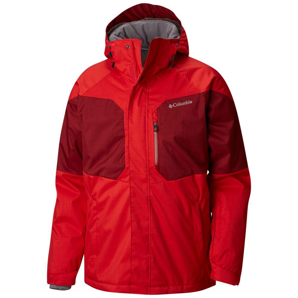 コロンビア Columbia メンズ スキー・スノーボード アウター【Alpine Action Ski Jacket 2019】Red Spark/Red Element/Bright Copper
