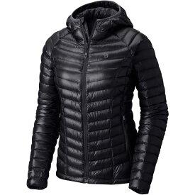 マウンテンハードウェア Mountain Hardwear レディース アウター ダウン・中綿ジャケット【Ghost Whisperer Hooded Down Jacket】Black