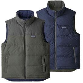 パタゴニア Patagonia メンズ スキー・スノーボード トップス【Reversible Bivy Down Vest】Forge Grey/Forge Grey