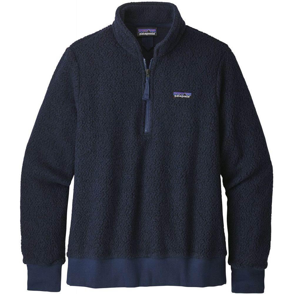 パタゴニア Patagonia レディース スキー・スノーボード トップス【Woolyester Fleece Pullover Fleece 2020】Navy Blue