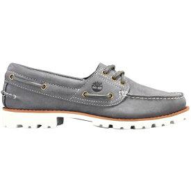 ティンバーランド Timberland レディース シューズ・靴 ローファー・オックスフォード【Noreen Lite Loafer Shoes】Medium Grey Nubuck