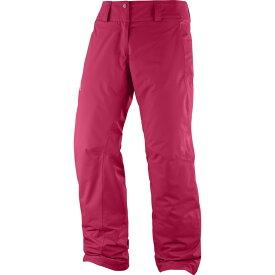 サロモン Salomon レディース スキー・スノーボード ボトムス・パンツ【Express Pants】Lotus Pink