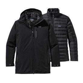 パタゴニア Patagonia メンズ スキー・スノーボード アウター【Tres 3 In 1 Parka Ski Jacket】Black