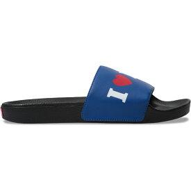 ヴァンズ Vans メンズ シューズ・靴 サンダル【Slide-On Sandals】(I Love Vans) True Blue/Black
