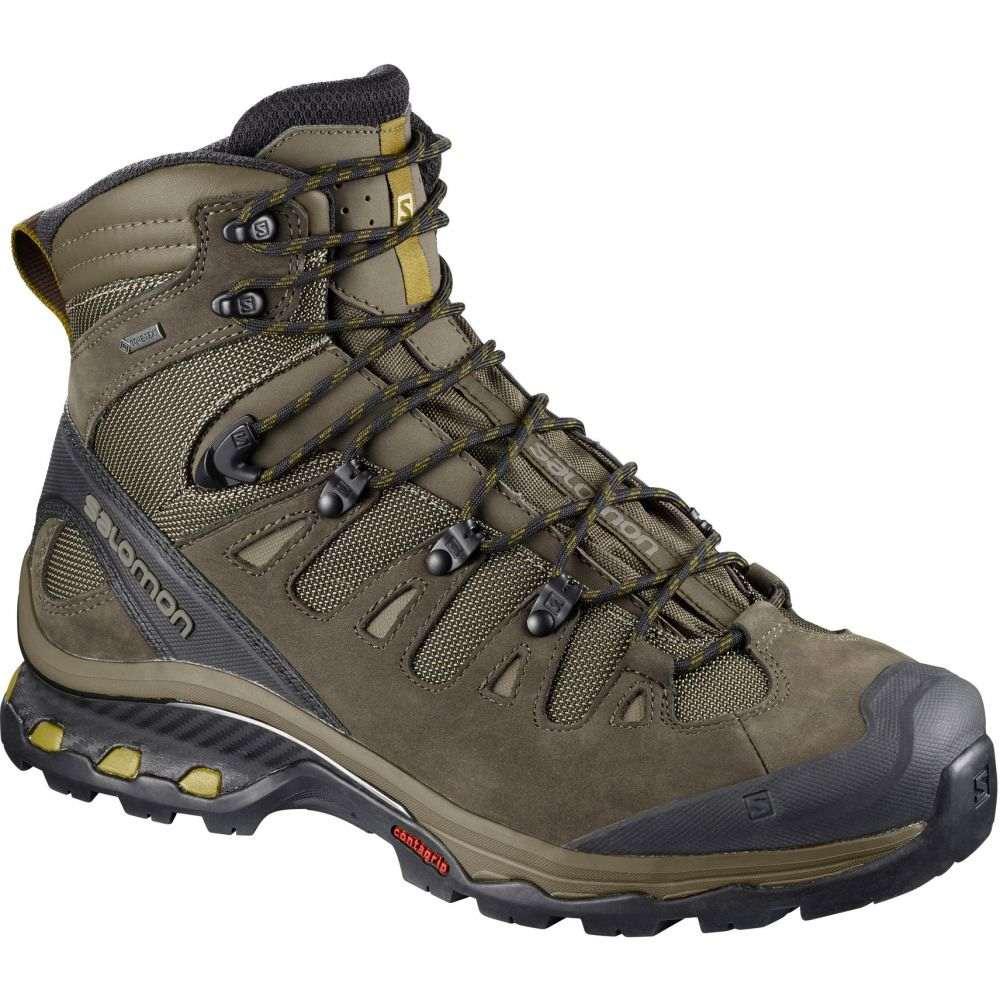 サロモン Salomon メンズ ハイキング・登山 シューズ・靴【Quest 4D 3 GTX Hiking Boots】Wren/Bungee Cord/Green Sulphur
