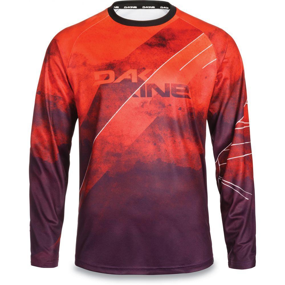 ダカイン Dakine メンズ 自転車 トップス【Thrillium L/S Bike Jersey】Red Rock/Blaze