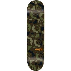 エンジョイ Enjoi メンズ スケートボード ボード・板【Repeater Skateboard Deck】Green/Camo