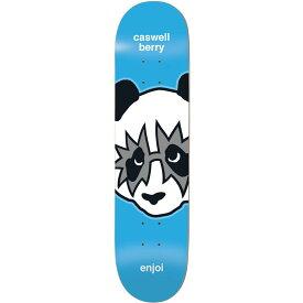 エンジョイ Enjoi メンズ スケートボード ボード・板【Kiss Skateboard Deck】Metallic Berry