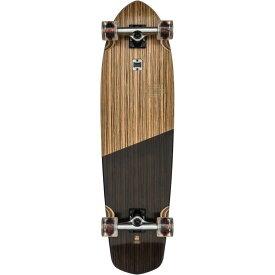 グローブ Globe メンズ スケートボード ボード・板【Blazer XL Longboard Complete】Zebrawood/Black