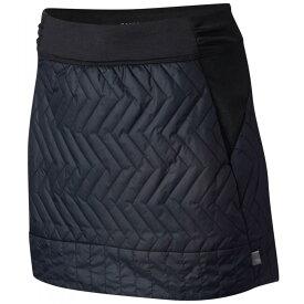 マウンテンハードウェア Mountain Hardwear レディース スカート ミニスカート【Trekkin Insulated Mini Skirt】Black