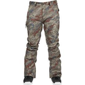 ボンファイヤー Bonfire メンズ スキー・スノーボード ボトムス・パンツ【Surface Stretch Snowboard Pants】Olive Camo